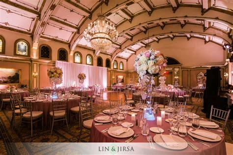 langham huntington pasadena wedding edward  tina