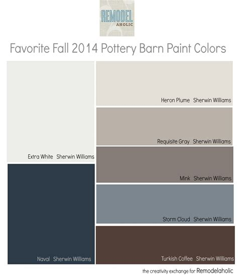 sherwin williams duration home interior remodelaholic favorites from the fall pottery barn paint