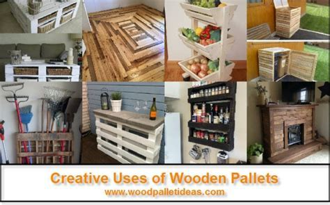 Creative Uses of Wooden Pallets ? Wood Pallet Ideas