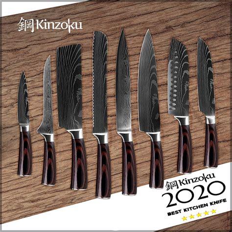 knives kitchen knife through each butter slice