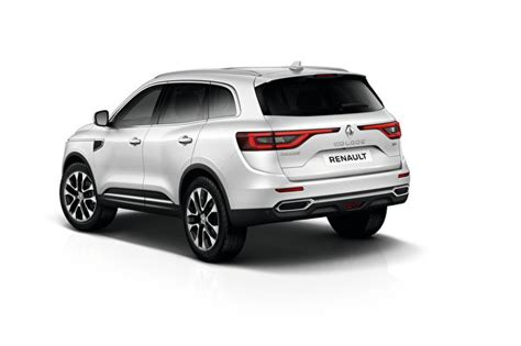 Renault Koleos Backgrounds by Wallpapers Renault Crossover Koleos White Auto Back View White
