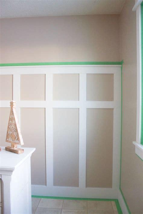 easiest  diy board  batten wall tutorial home