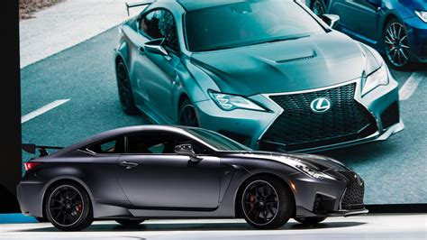 lexus rcf track edition