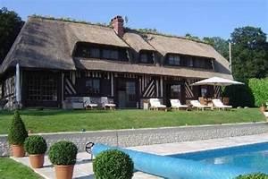 superbe villa avec piscine proche deauville ancien With location maison avec piscine normandie