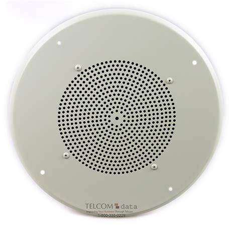bogen orbit ceiling speakers bogen ceiling speaker w recessed volume on a white grille