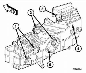 Dodge Ram Blower Motor Resistor Location