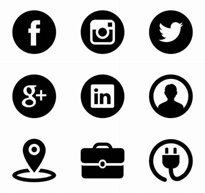 Icon Social Iconos Redes Sociales Transparent Icons