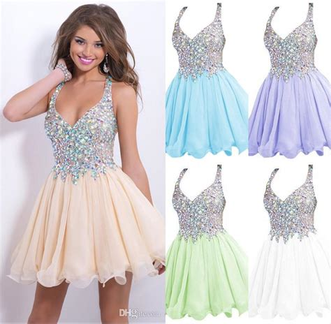 2016 Cocktail Party Dresses Cheap New Arrival Sparkly