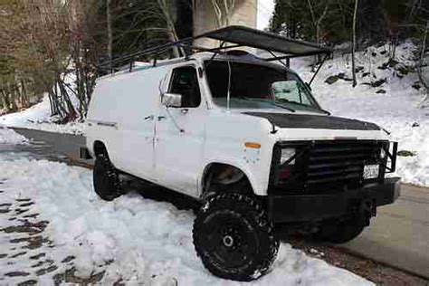 car engine manuals 2006 ford e350 electronic valve timing sell new ford e350 4x4 van cummins diesel 5speed manual transmission 1986 in dunsmuir