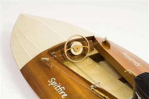 aeronaut spitfire vintage outboard racing boat model boat