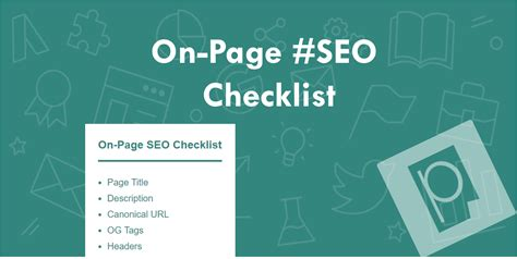On Page Seo by On Page Seo Checklist Search Engine Optimization