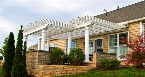 pergola kits which low maintenance material is right for me