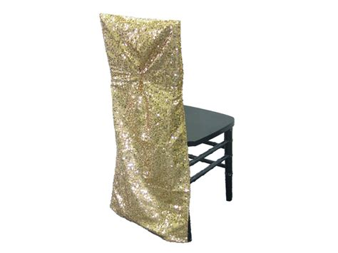 gold sequin chair sleeve your event delivered