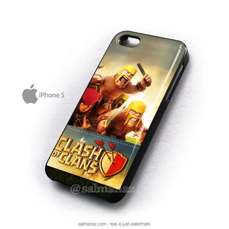clash of clans mobile iphone 5 cover awsome clash of clans iphone cases
