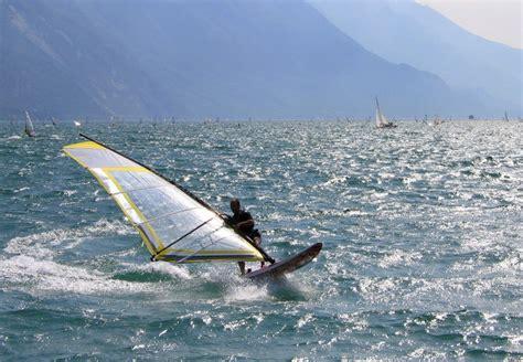 Wind Surfing Lake Havasu City California Usa