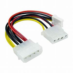 5 25 U0026quot  4 Pin Molex To 3 5 U0026quot  Floppy Drive  U0026 Molex Power