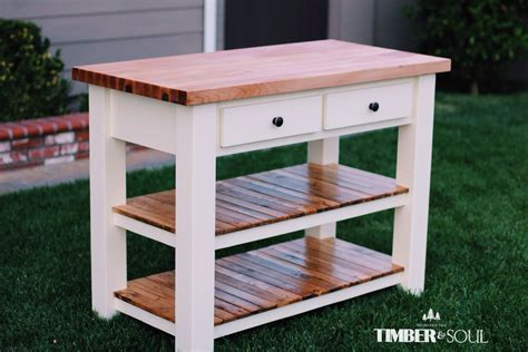 kitchen island cart plans white butcher block kitchen island diy projects