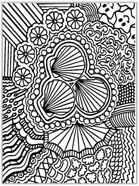 shells adult coloring pages images realistic coloring pages