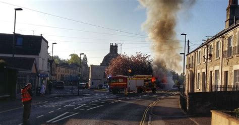 Bath News by Photo And Shows Explosion On The Outskirts Of Bath