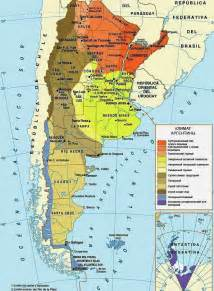 Argentina South America Map