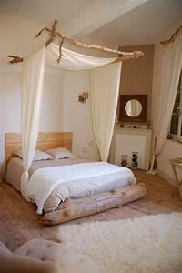 17 meilleures idees a propos de meubles en bois flotte sur for Idee deco cuisine avec lit king size