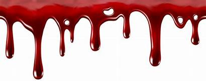 Dripping Blood Transparent Clip Decor Clipart Halloween