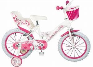 Fahrrad Mädchen 16 Zoll : 12 14 16 zoll charmmy kitty kinder rad kinderfahrrad ~ Jslefanu.com Haus und Dekorationen