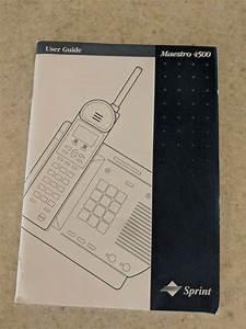 Sprint Maestro 4500 User Manual