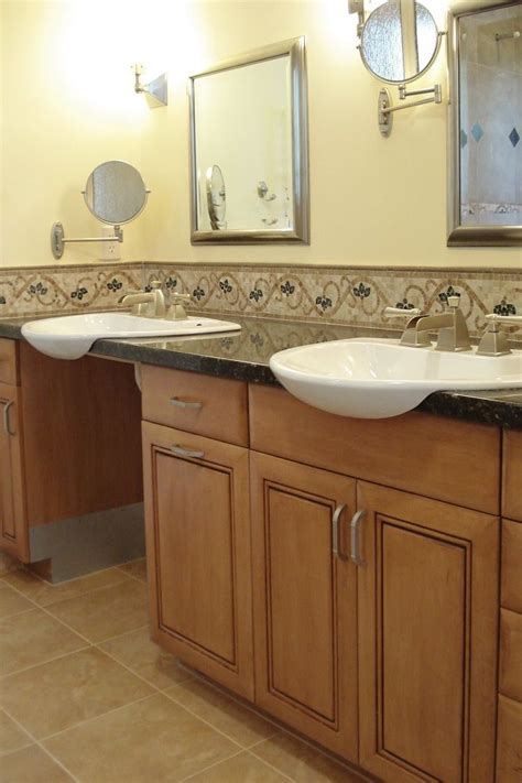 Handicapped Bathroom Sinks by 31 Best Accessible Bathroom Counters Cabinets Images On