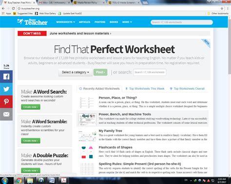 English Worksheet Websites  Kidz Activities