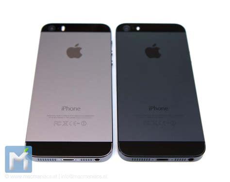 Farbvergleich Iphone 5s Iphone 5 Space Grau Vs