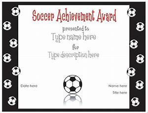 soccer certificate templates activity shelter With soccer certificate templates for word