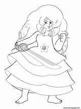 Steven Universe Coloring Rose Printable Jasper 1200px Popular Coloringhome 94kb sketch template