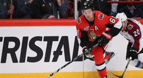 senators mark stone   biggest  man band  hockey