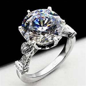 large lab created diamond engagement ring compare with the With large diamond wedding rings