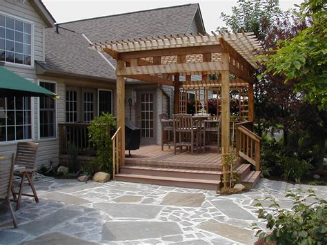 decks with pergolas how to add backyard shade by archadeck st louis decks screened porches pergolas by archadeck