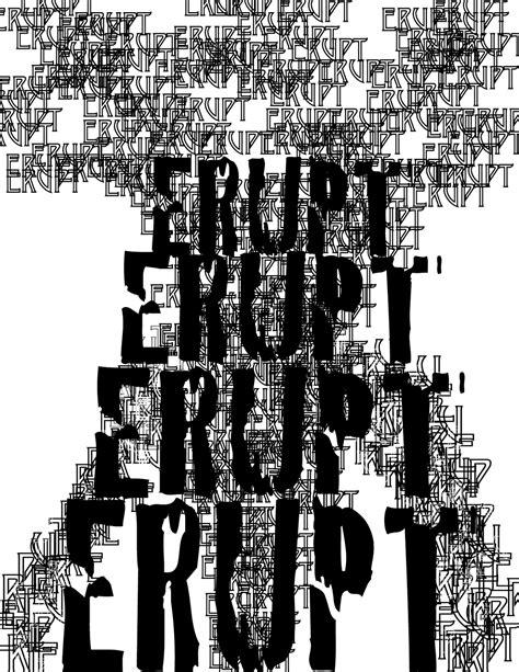 auroura s principale graphic art typography composition exercise 5 7