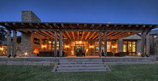 llano ranch rustic porch austin  cornerstone
