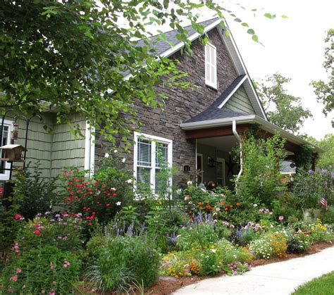 Cottage Garden Design Landscape Shabby Chic Style With
