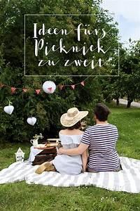 Romantisches Picknick Ideen : diy deko ideen f r ein picknick zu zweit diy deko ~ Watch28wear.com Haus und Dekorationen