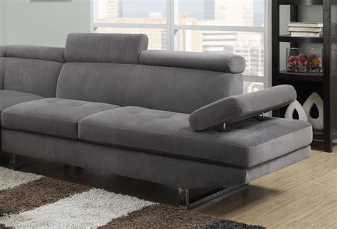 canape d angle gris canapé d angle tissus gris