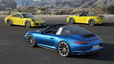 2018 Porsche 911 Carrera 4 Targa 4 Awd Revealed