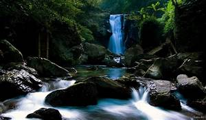 The most beautiful waterfall HD Desktop Wallpaper