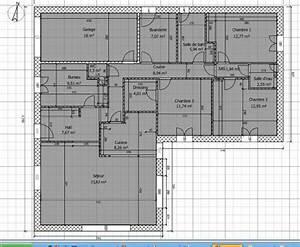 Maison 120m2 Plain Pied : 120m2 plain pied en l bbc parasismique 4 ch cuisine ouverte 134 messages page 2 ~ Melissatoandfro.com Idées de Décoration