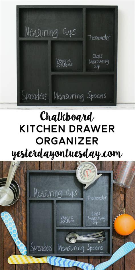 kitchen chalkboard organizer chalkboard kitchen drawer organizer yesterday on tuesday 3345
