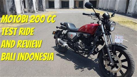 Review Benelli Motobi 200 Evo by Benelli Motobi 200 Evo Test Ride And Review Bali Indonesia