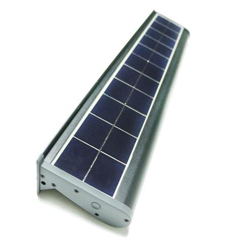 solar powered flood light dusk to dawn eleding solar powered 10 watt gray outdoor integrated led