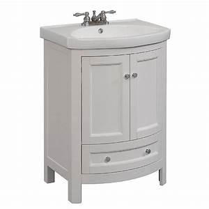 24 inch vanities bathroom bath the home depot chic With 24 x 18 bathroom vanity