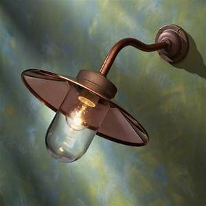 Applique Murale Cuivre : applique murale ext rieur cuivre rouge quay light 45 ~ Melissatoandfro.com Idées de Décoration