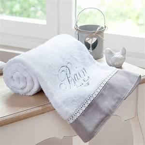 Drap De Bain 100x150 : drap de bain en coton blanc 100x150 bain maisons du monde ~ Teatrodelosmanantiales.com Idées de Décoration